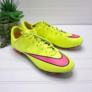 Nike Mercurial VELOCE II FG Volt Soccer Cleats 9